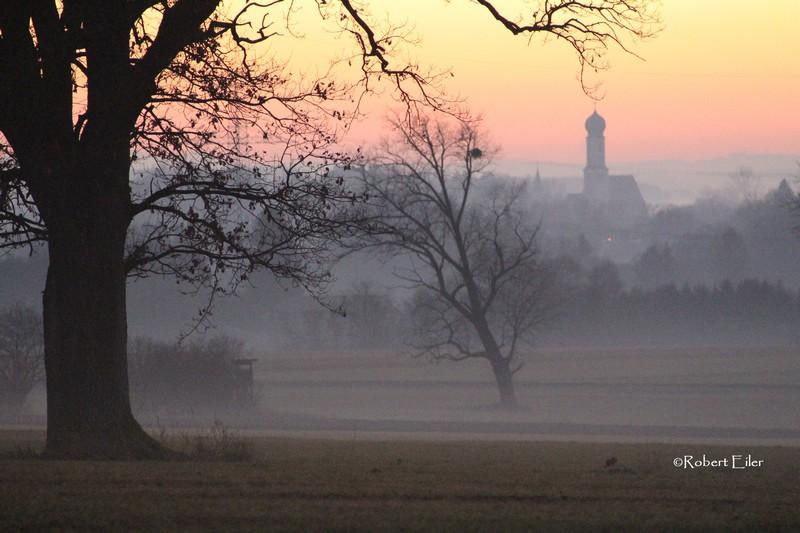 Blick von Emmenhausen nach Waal im Dezember Foto Eiler_bearb
